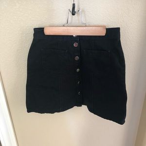 Urban Outfitters BDG Buttoned Denim Skirt